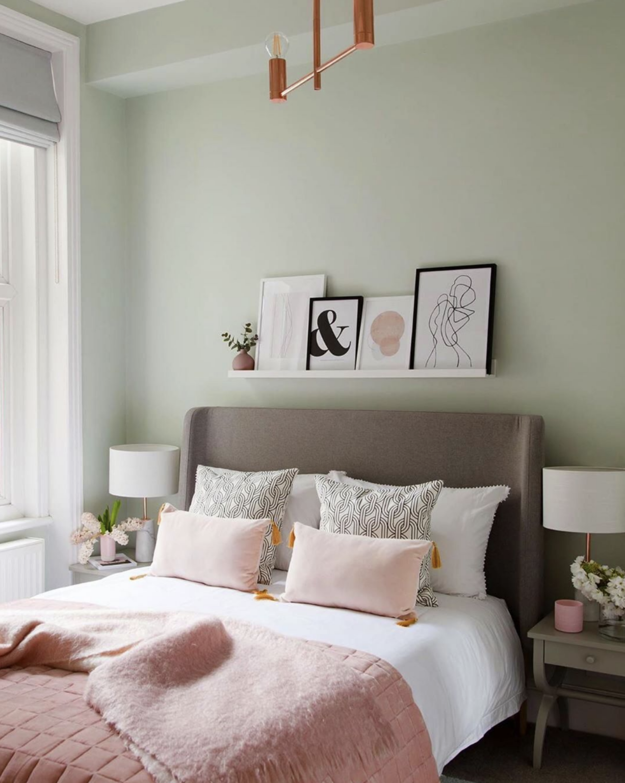 36 inspiring green gray interiors with paint color names