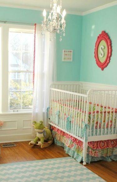 So Darling Aqua And C Nursery Decor Project Ideas
