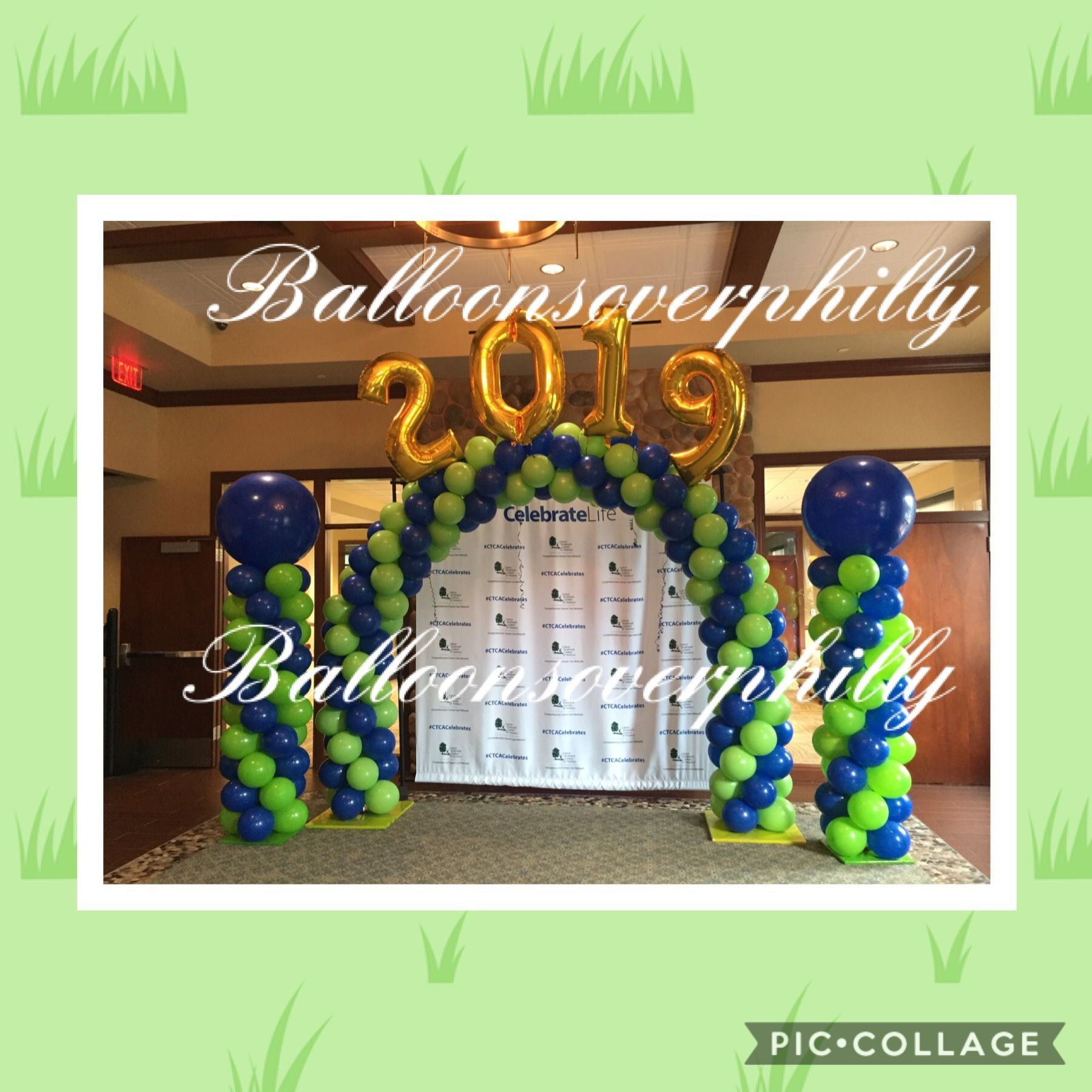Balloon arches by Balloon Celebrations  Balloonsoverphilly.com  #balloonarch Balloon arches and balloon columns #balloonarch