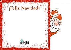 Dibujos para postales de navidad para ninos