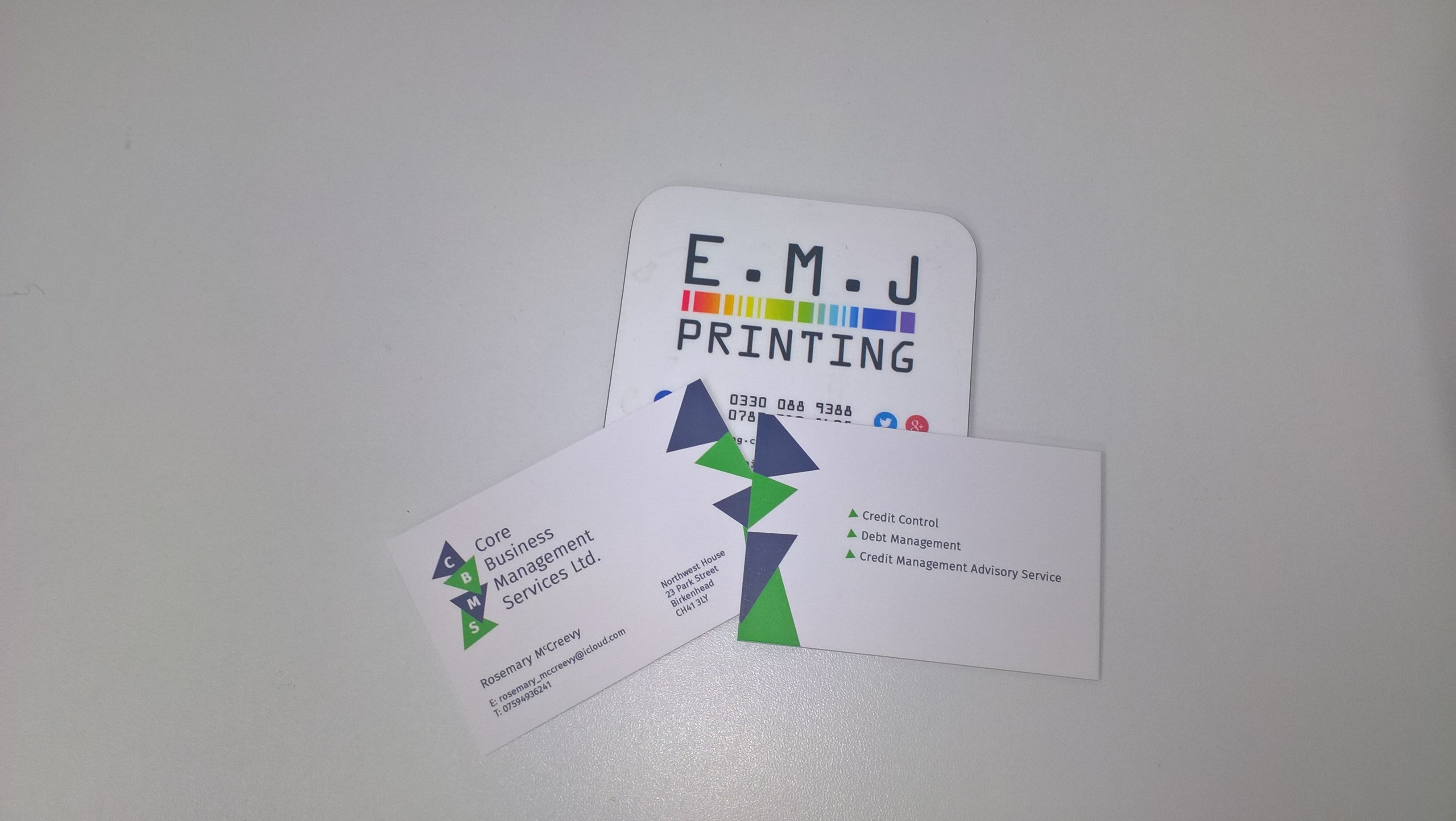 Businesscards Designed Yesterday And Printed Today