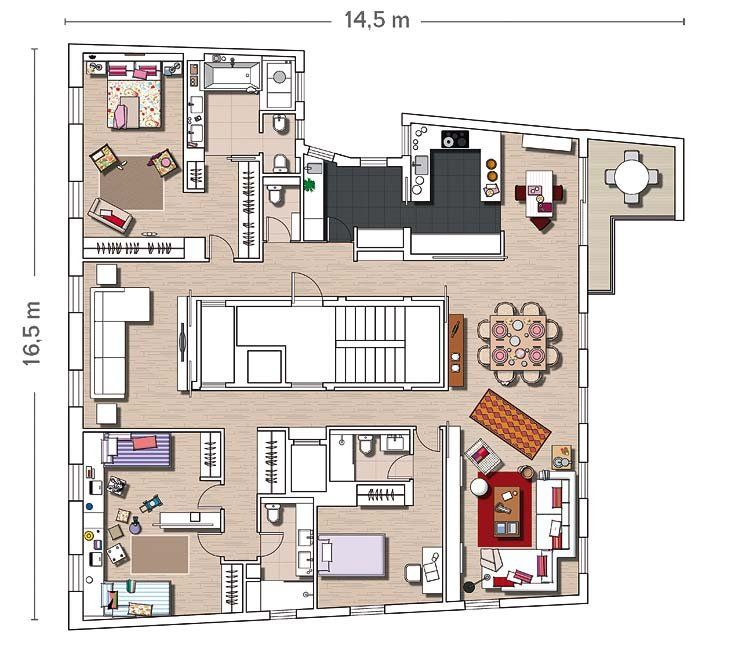 Planos de casas hermanos scott buscar con google - Planos de casas americanas ...