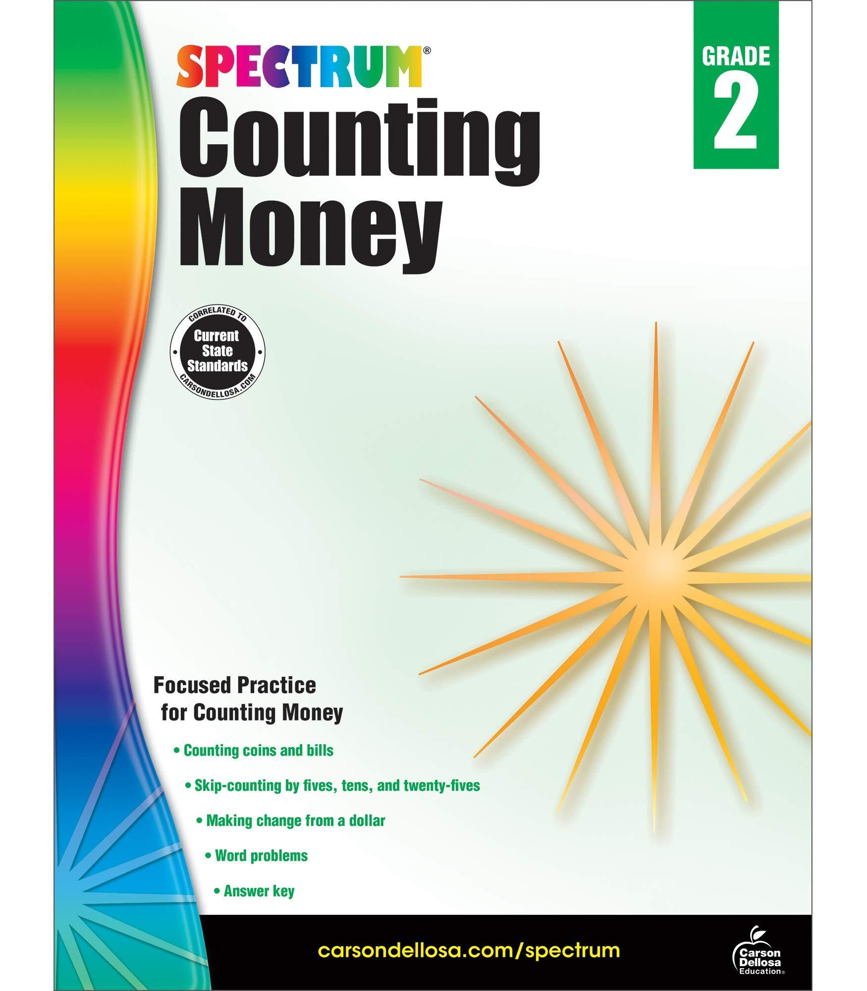 Pdf Download Spectrum Counting Money Grade Words For Teacher Solving Word Problems Workbook [ 2000 x 1750 Pixel ]