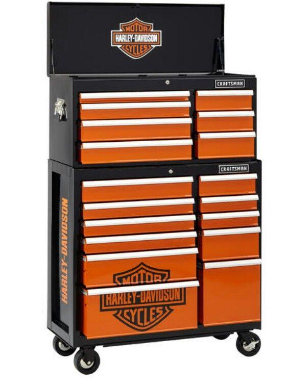 Craftsman Harley Davidson 40 In 11 Drawer Rolling Cabinet At Sears