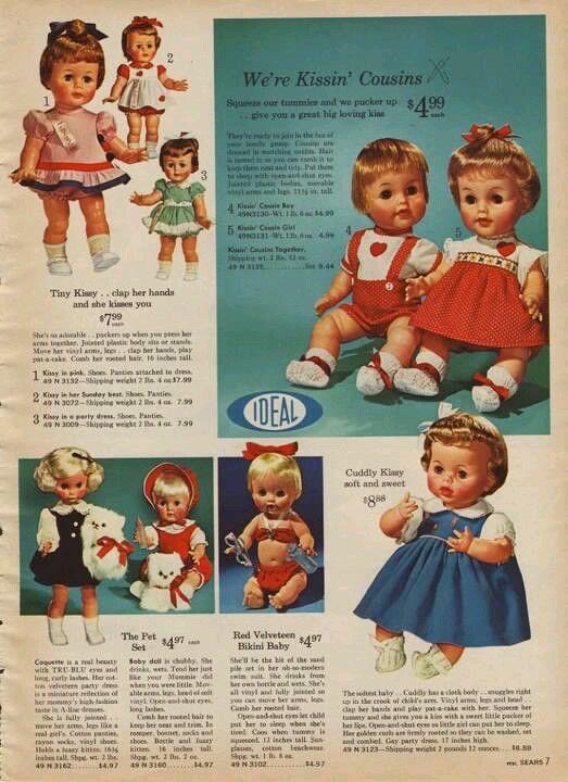 1964 doll ad