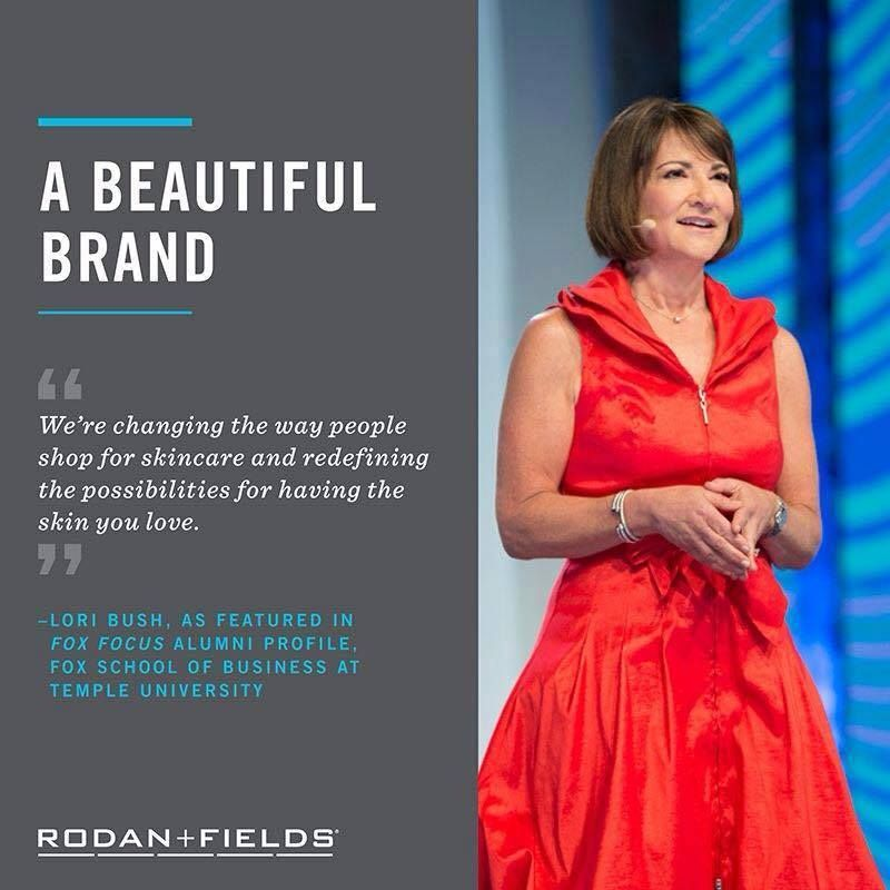 Rodan + Fields is not the direct marketing company of old.  They are changing the way people do business.