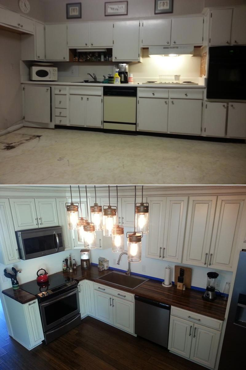 We had to remove all of the original hardwood floors and most