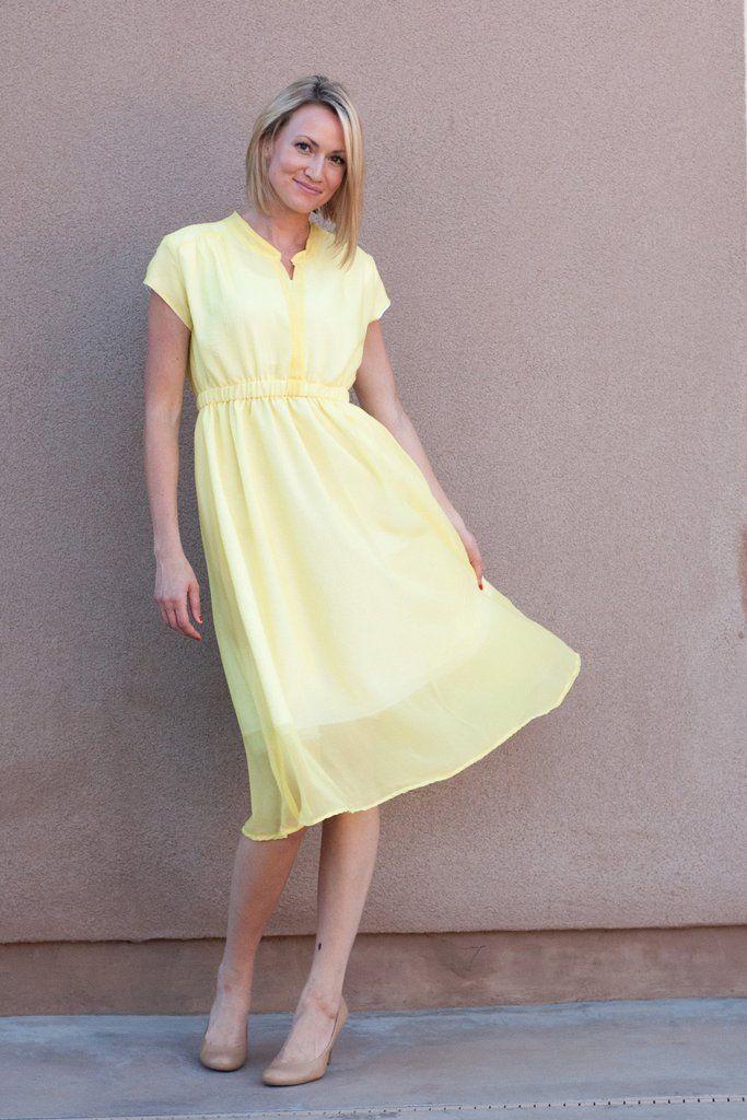 Marigold Dress, Peplum and Skirt Pattern - Blank Slate Patterns
