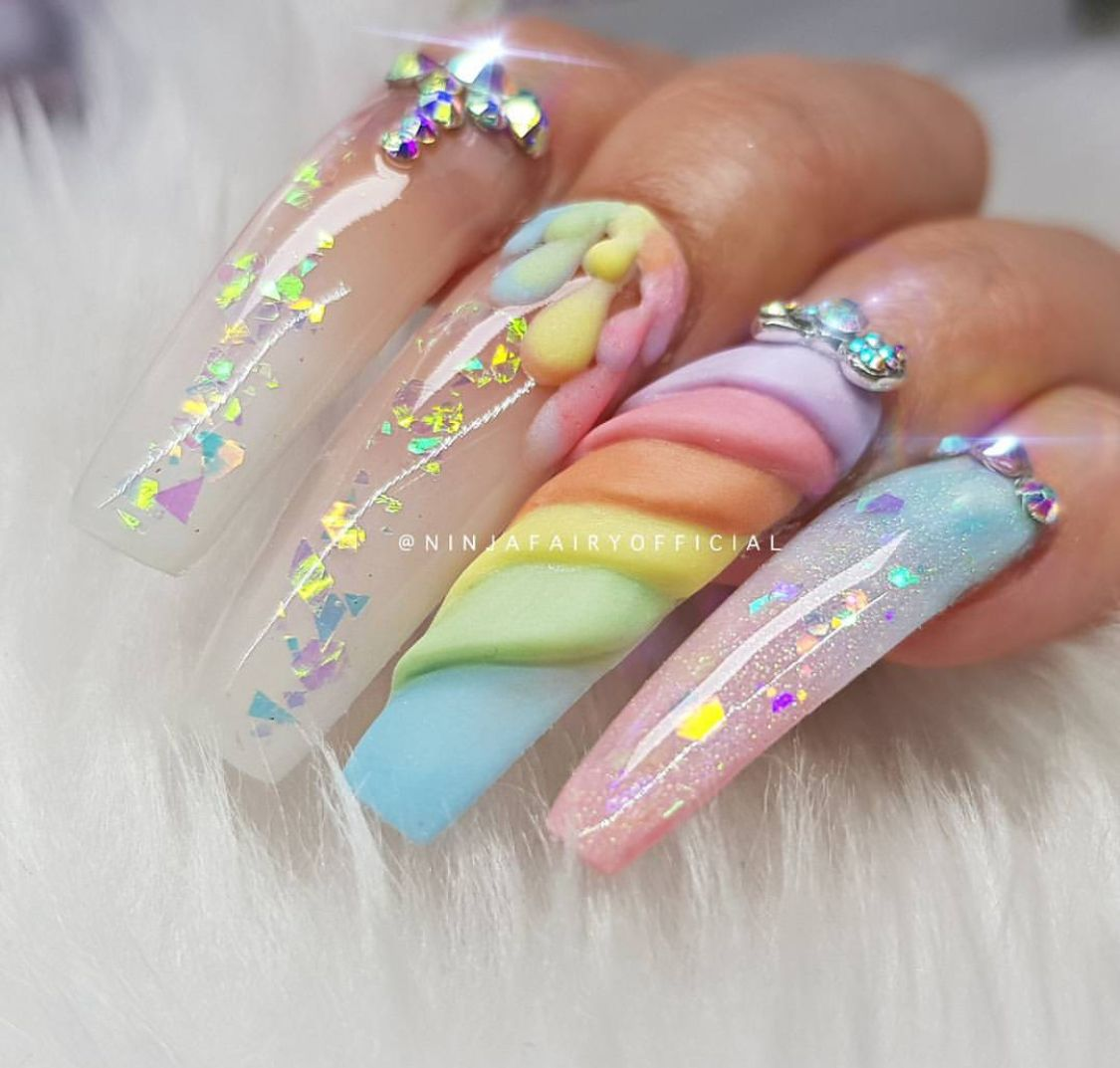 Pin de Dasha Slater en Nails | Pinterest | Diseños de uñas ...