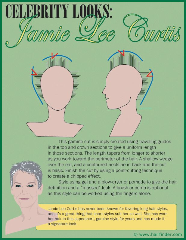 Image From Http Www Hairfinder Com Celebrityhair Jlcurtisgraphic Gif Jamie Lee Curtis Haircut Jamie Lee Curtis Hair Jamie Lee Curtis