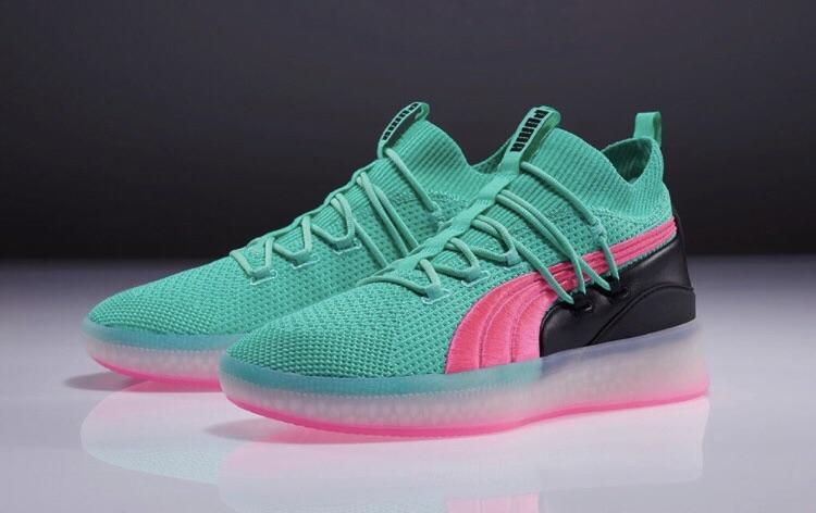 low priced a43d6 473d9 Second color-way of the new Puma Clyde Court Basketball shoe (x-post  rsneakers) outrun