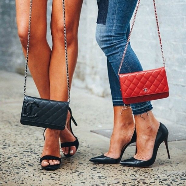Ladie's luxury accessories @tashsefton @elle_ferguson #style #stylish #fashion #fashionable #girl #fashion #luxury #luxuryfashion #bag #sunglasses #skirt #street #streetfashion #streetstyle #chanel #christianlouboutin #heels