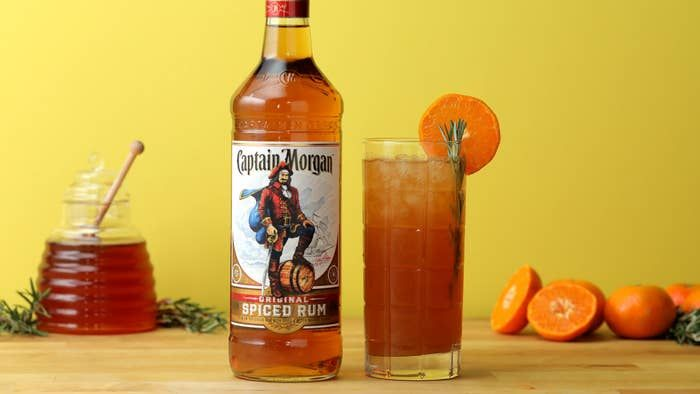The Captain's Tangerine Iced Tea