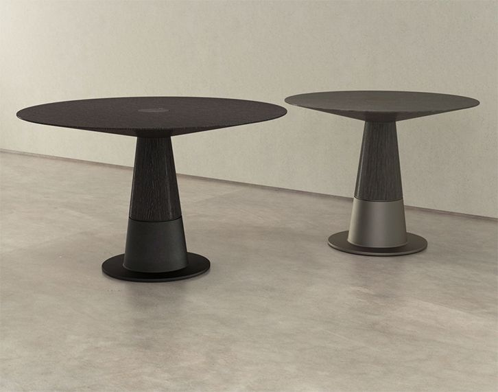 Silo Pedestal Dining Table By Luma Design Workshop In Seattle Wa