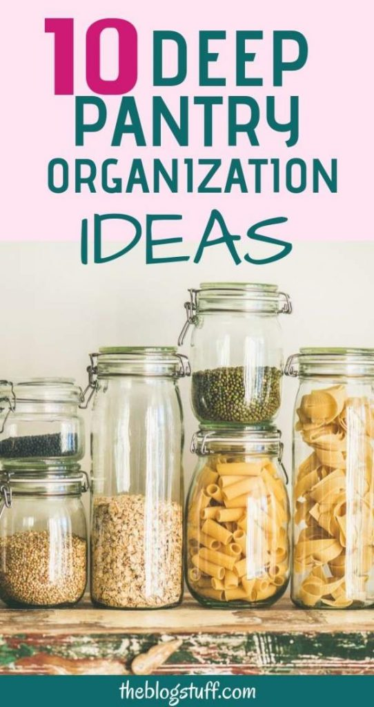 Deep Pantry Organization Ideas And Storage Tips To Make Easier To Find What You Are Looking For K Deep Pantry Organization Deep Pantry Diy Pantry Organization