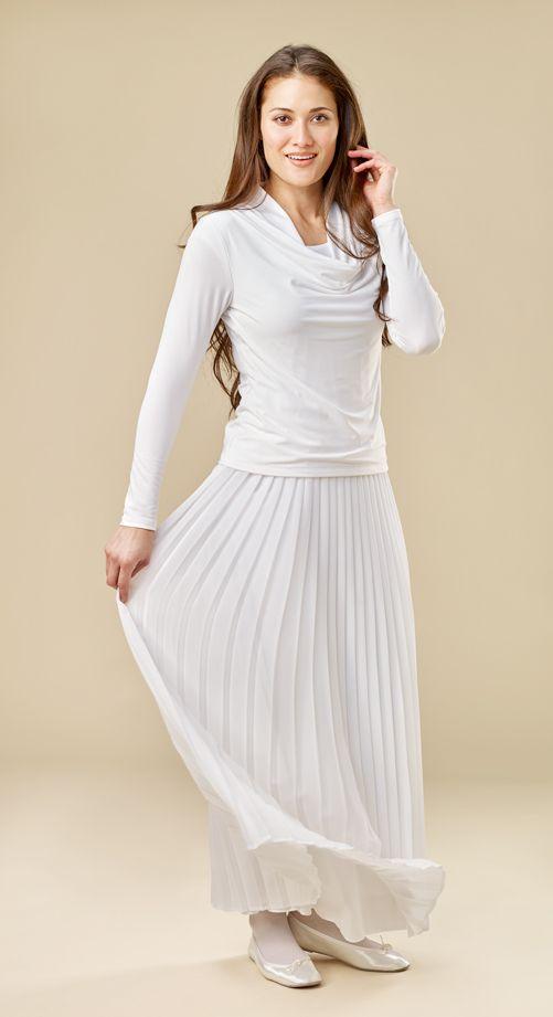 Georgette Pleated Skirt #2005 | Pinterest