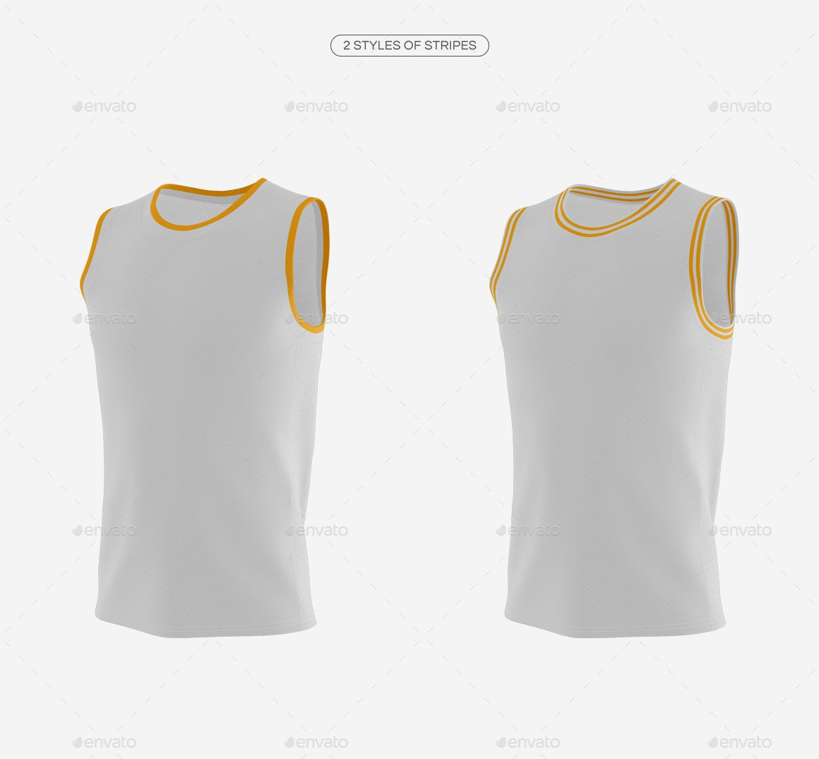 Download Basketball Jersey with Crew-Neck Mockup | Basketball ...