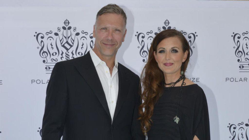 TURBULENT FORHOLD: Mikael Persbrandt og Sanna Lundell har vært et par siden 2005. Sammen har de to barn. Foto: Stella Pictures