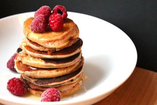 Glutenfreie Apfelpancakes + einmal Reismehl & zurück.