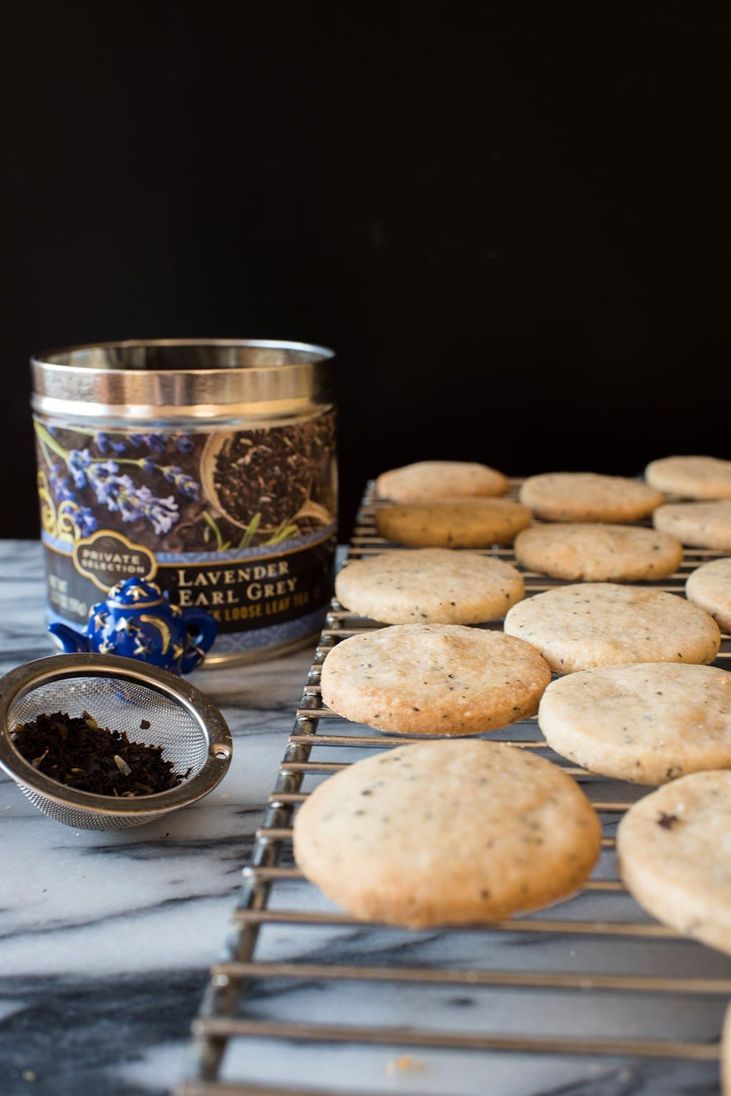 Earl Grey Shortbread Cookies Recipe