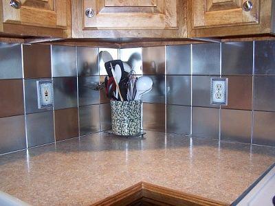 Brass KitchenTile Backsplash Tin Ceilings By The Tinman Chelsea Unique Decorative Tin Backsplash Tiles