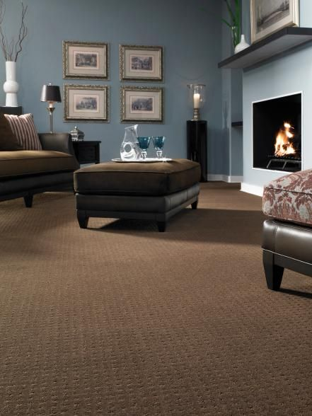12 Ways To Incorporate Carpet In A Room S Design Brown Carpet Living Room Brown Carpet Bedroom Brown Living Room