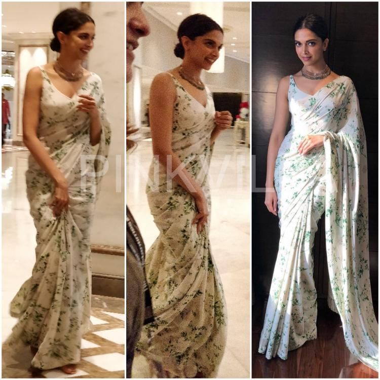 Yay or Nay : Deepika Padukone in Sabyasachi (With images ...
