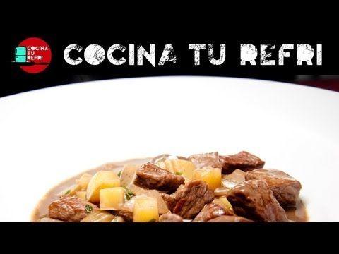 ESTOFADO DE RES AL VINO TINTO Cocina tu Refri 141 | Yum! Yum ...