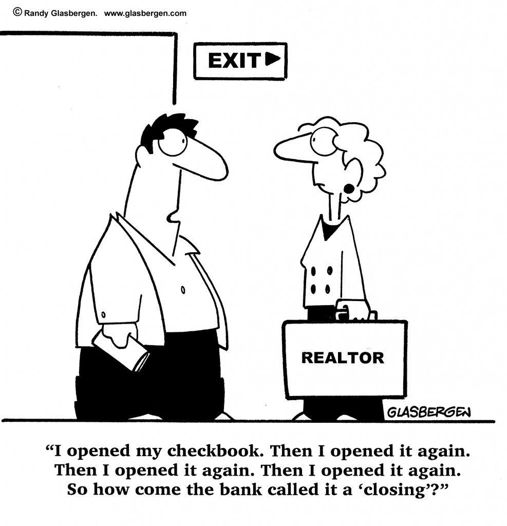 Humorous Closing Real Estate Humor Real Estate Advertising