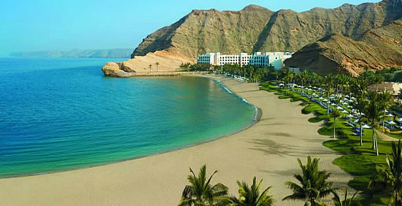 Bandar Jissah Beach Is Situated Just 25 Km From The Capital Of Oman Muscat Oman Beach Beach Trip Beautiful Places In The World