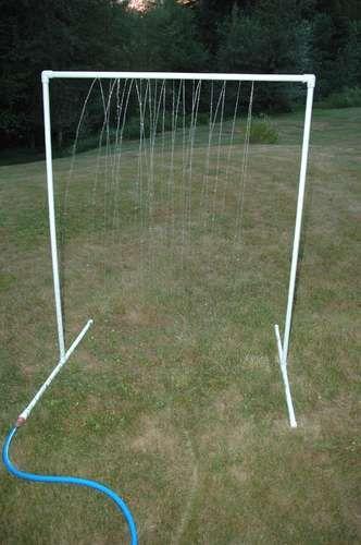 KidWash: PVC Sprinkler Water Toy | Agua, Juego y La finca