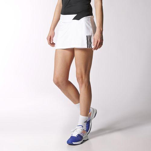 adidas Falda Short de Tennis Response Mujer White | adidas
