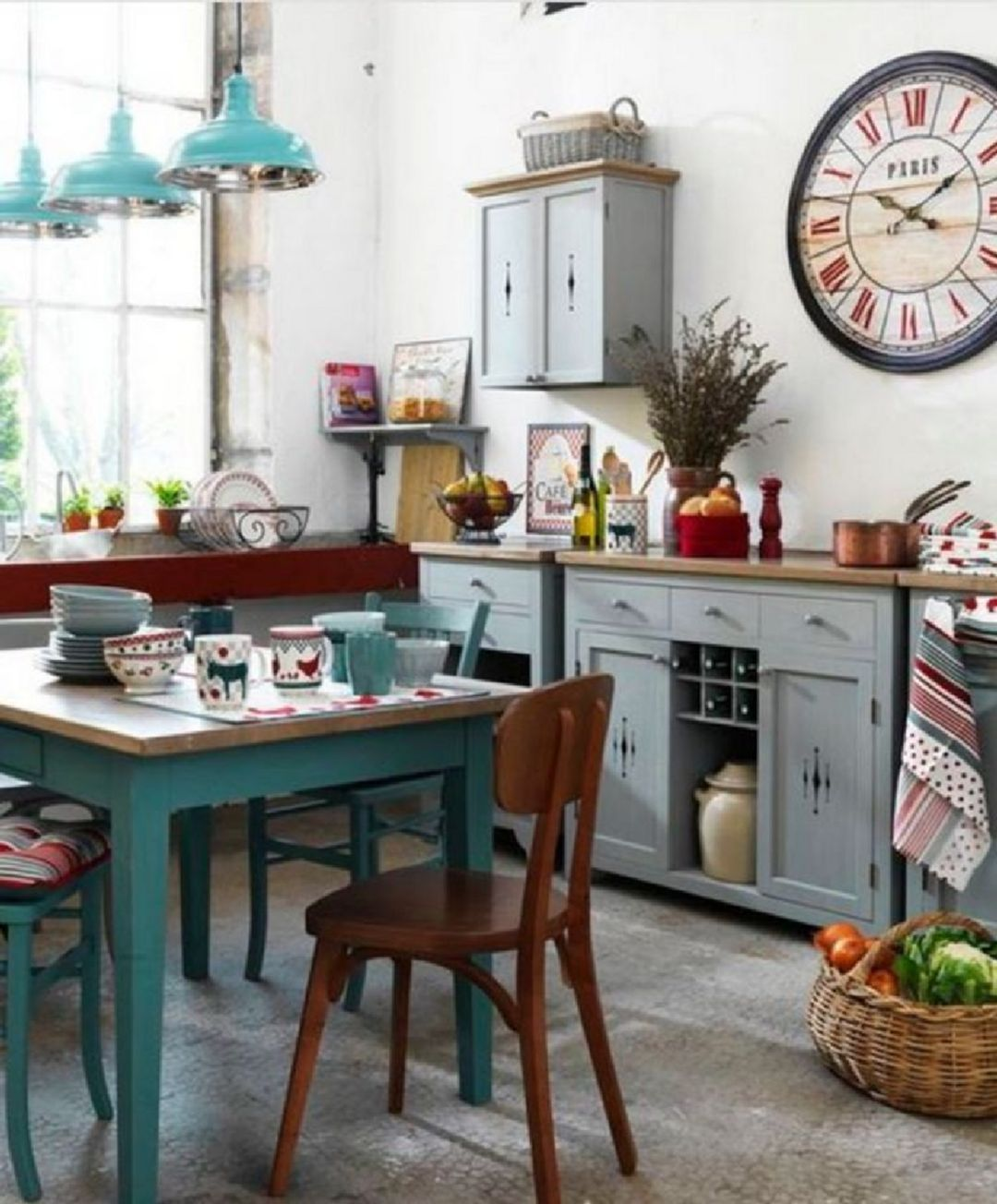 12 beautiful vintage design ideas that are suitable for your home boho kitchen decor kitchen on boho chic home decor kitchen id=75613