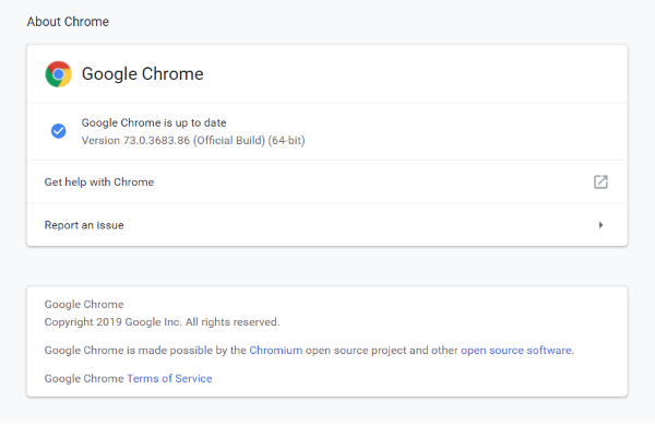 Both Chrome and Firefox web browsers come with great address