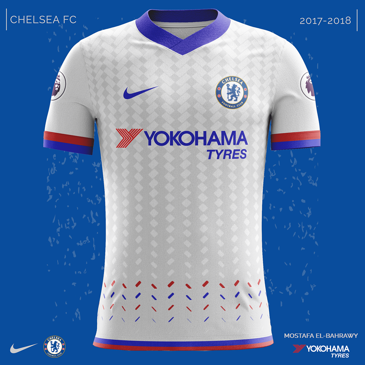 d08208a54 Chelsea Nike Kits (2017-2018) on Behance