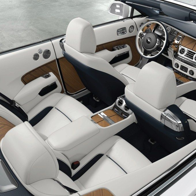 Barclay Butera S New Rolls Royce Dawn Is The Ultimate Yacht On Wheels Luxury Car Interior Rolls Royce Rolls Royce Interior