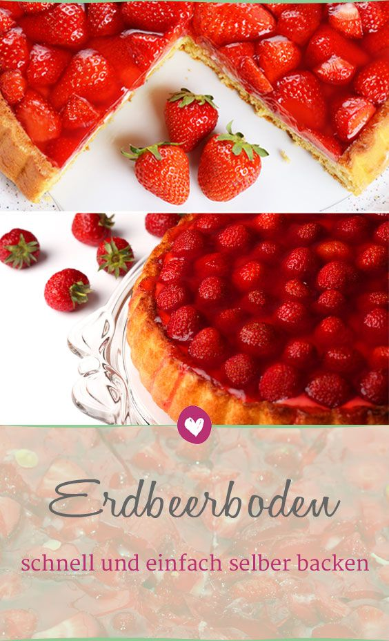 Bake your strawberry base quickly and easily