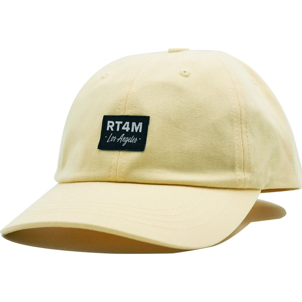 RT4M Draper Cap   Light Yellow