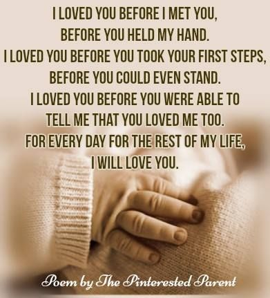 Poem By The Pinterested Parent Motherhood Parenting Children Parenthood Quotes About Motherhood Newborn Quotes Baby Poems