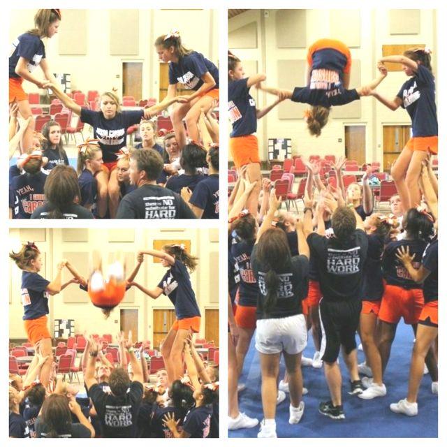 Backflip stunt !