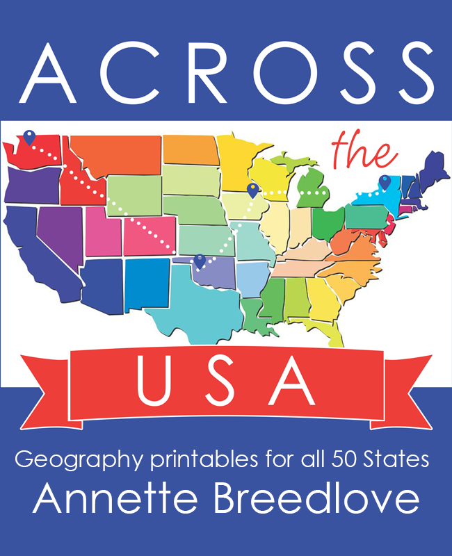 Across the usa geography printables for all 50 states map skills across the usa geography printables for all 50 states gumiabroncs Gallery