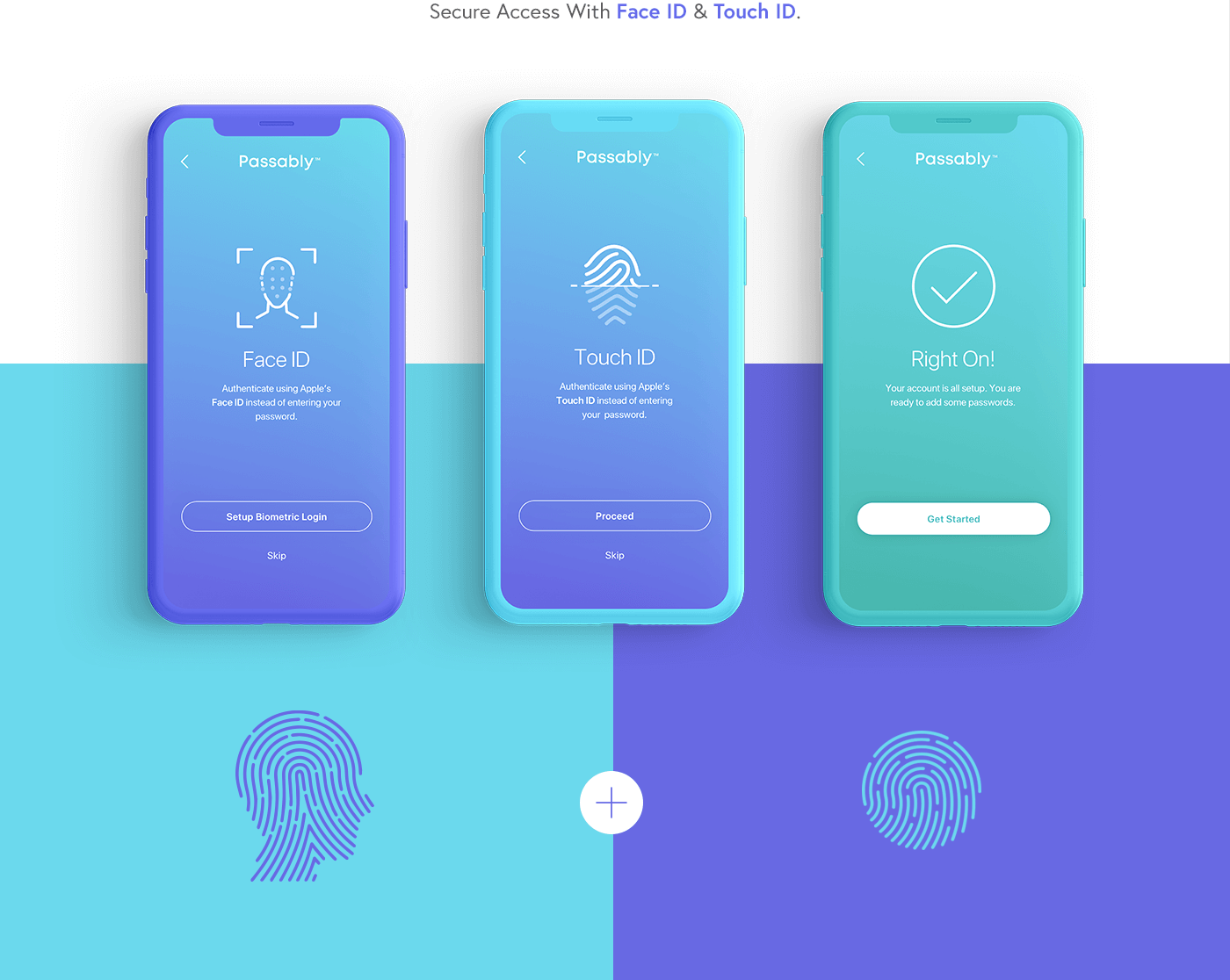 Passably App - UX/UI Design #guidesign