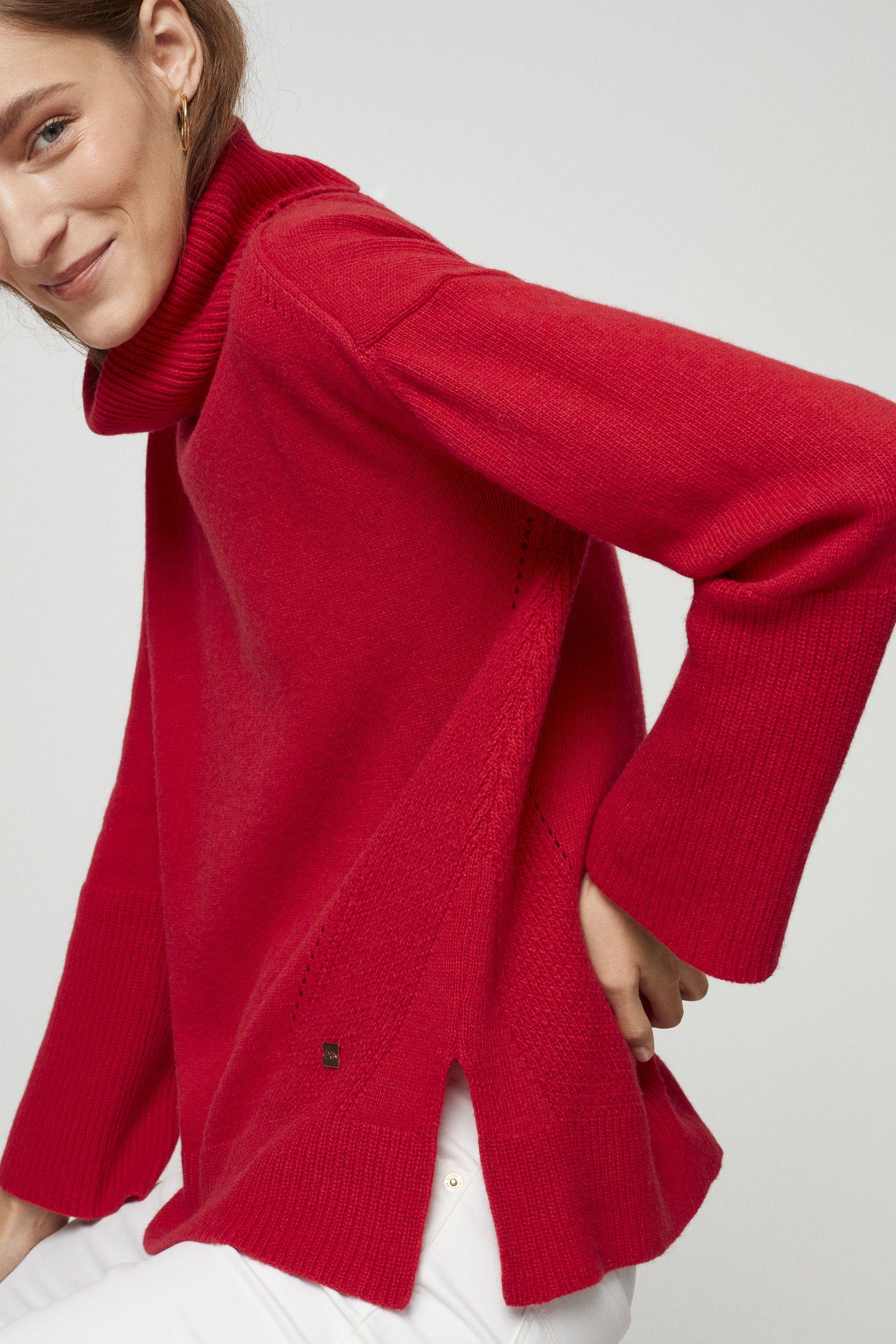 Jersey Cuello Cisne Colección Mujer Purificación García Fashion Scarf