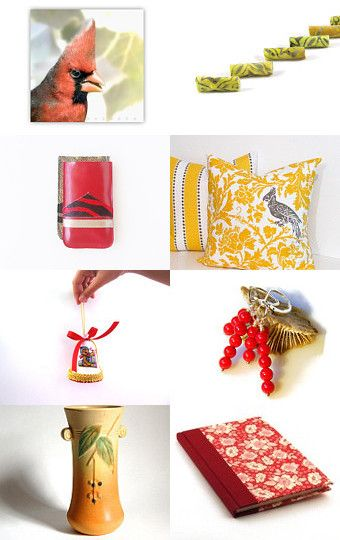 Between Fall and Christmas  by Lina Rekl on Etsy