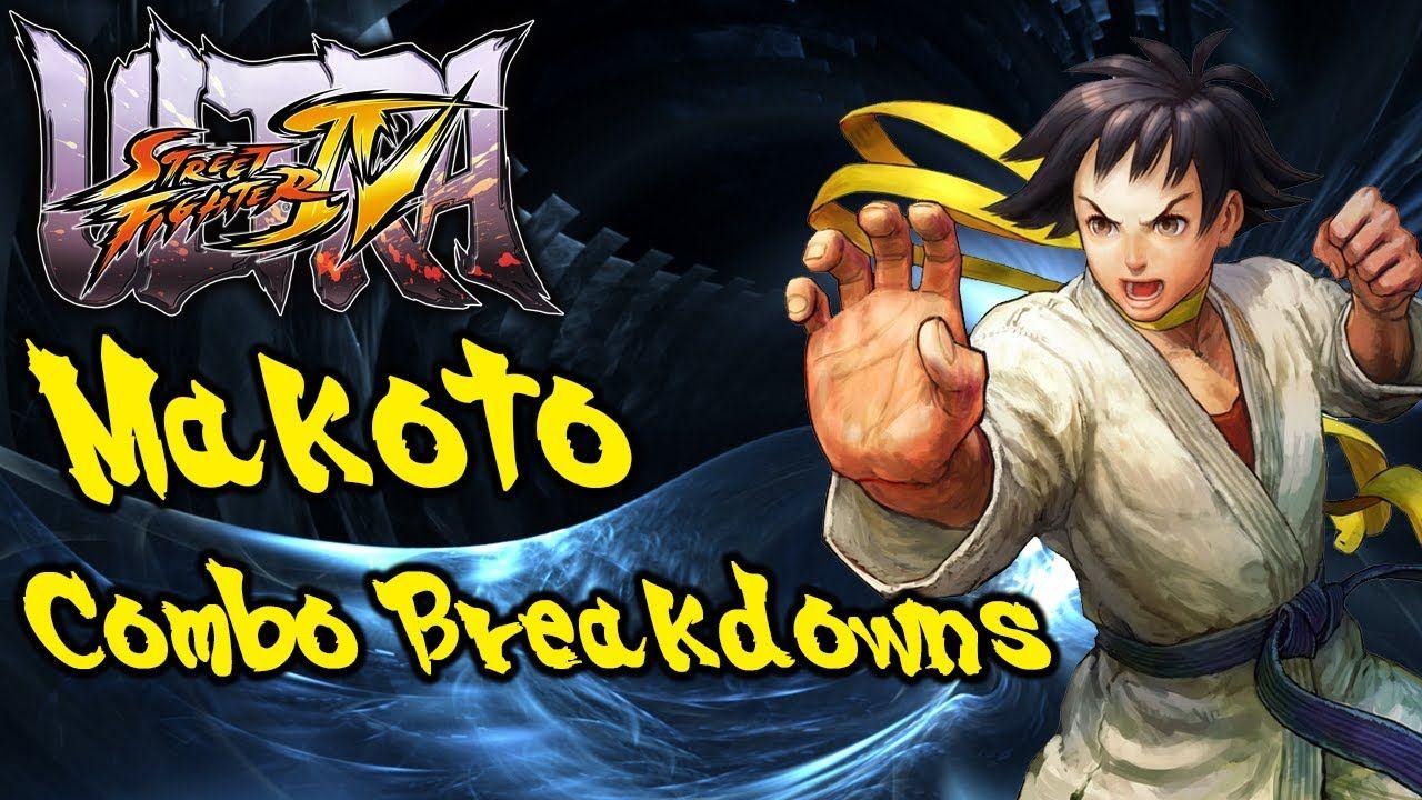 USFIV Combo Breakdowns: Makoto