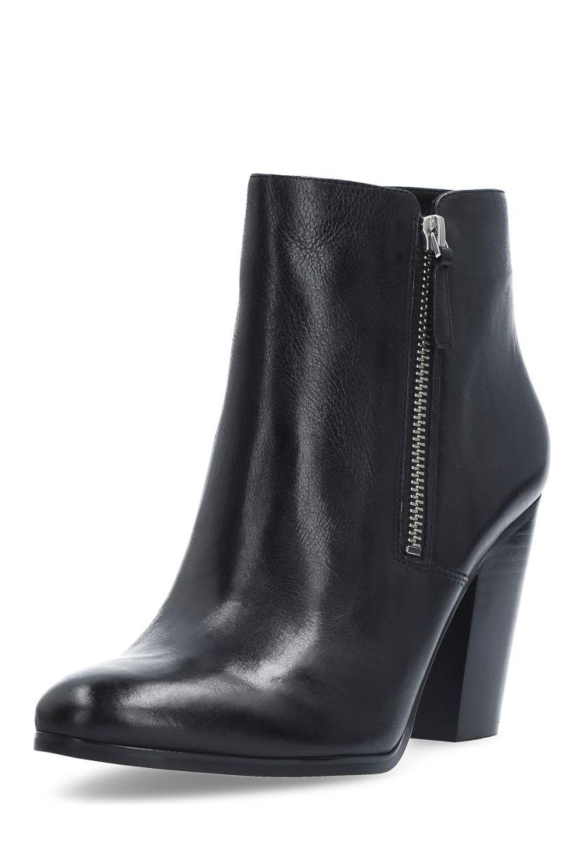 Michael Kors Ankle-Boots, Leder, Absatz 9 cm, schwarz Jetzt bestellen  unter: https://mode.ladendirekt.de/damen/schuhe/stiefeletten/ankleboots/?uid=7bb4e9ba-  ...