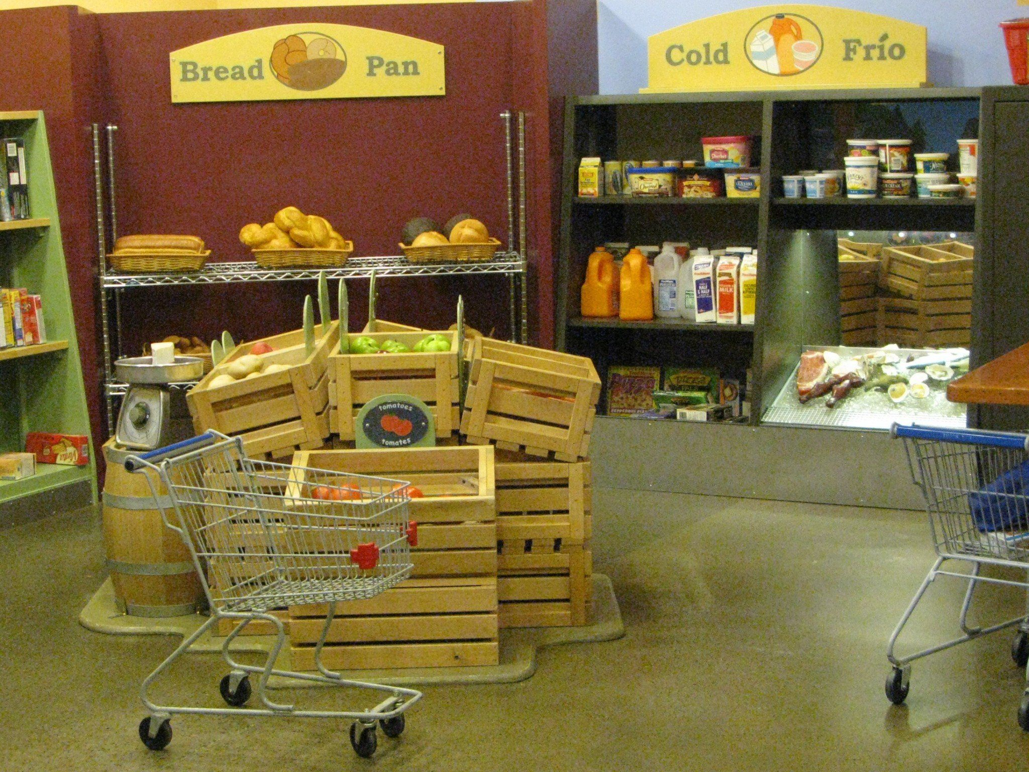 Portland Children\'s Museum, Fred Meyer freshen up grocery exhibit ...