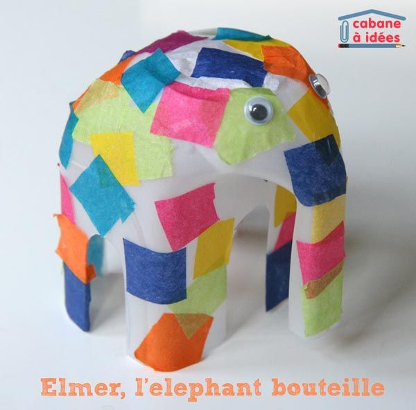 Fantastique J'aime bien Elmer, l'éléphant multicolore créé par David McKee YZ-75