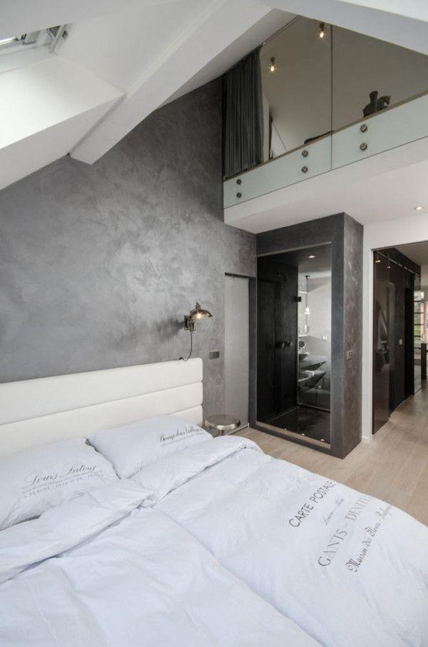 A Renovated Attic Apartment In Prague Design Milk Attic Apartment Attic Renovation Apartment Design