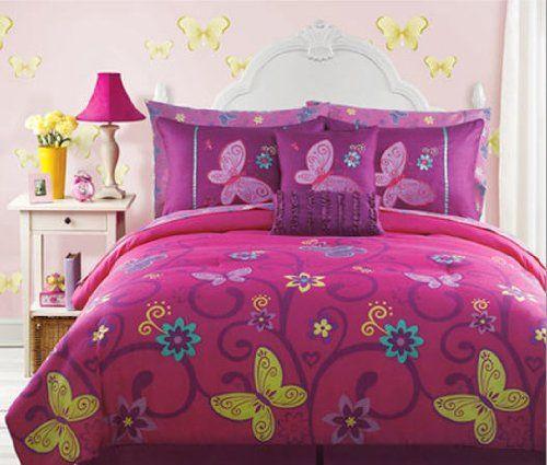 Full Size Bedding For Girls Butterfly Teen Girls Full Size